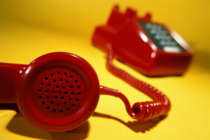 Red telphone